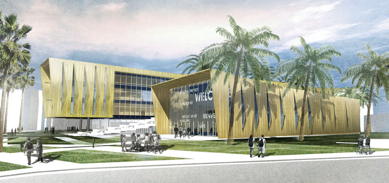 FIU builds more on packed campus