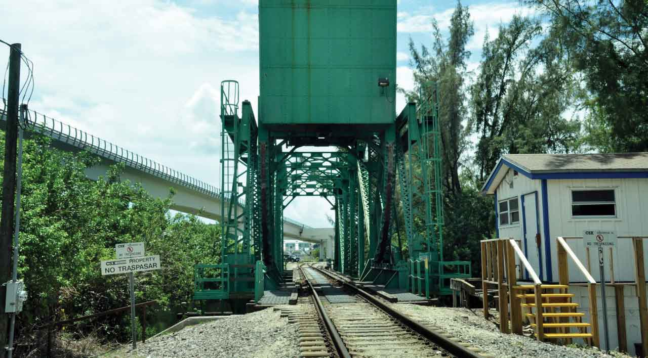 New rail bridge at river could open bottleneck