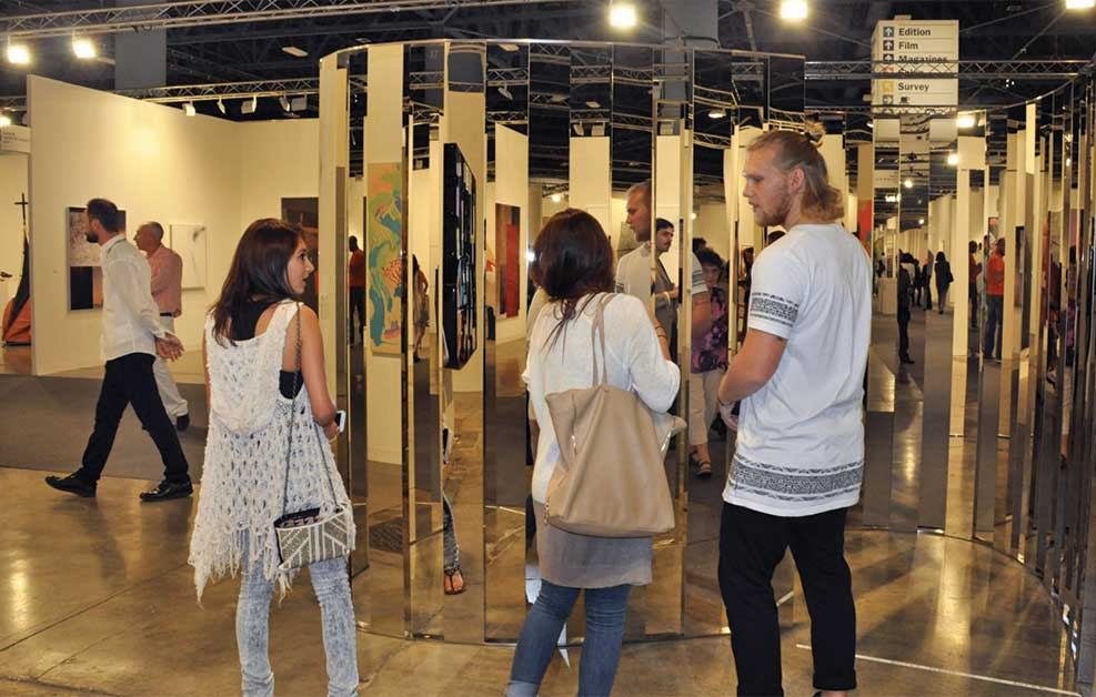Art buyers flock from abroad for week