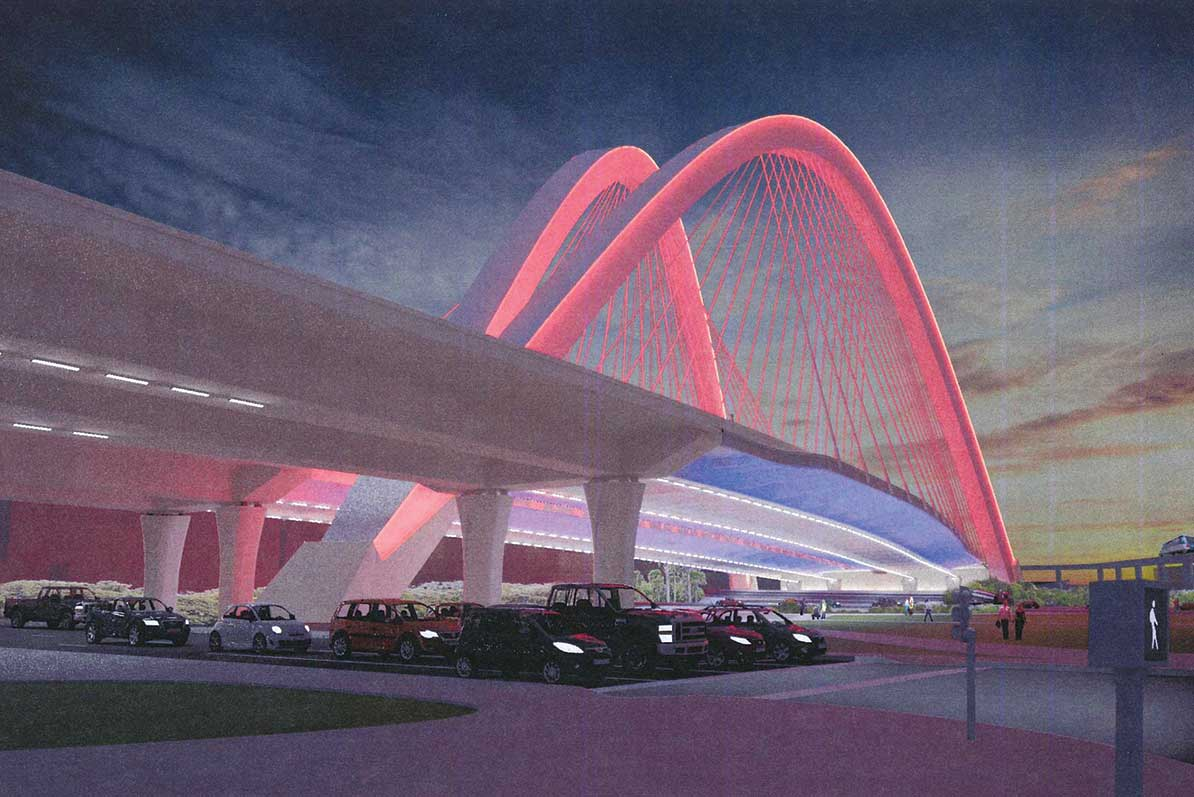 Questions fly on new I-395 bridge