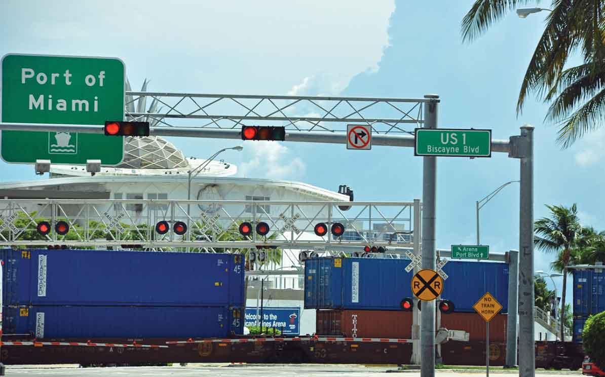 Rail helps PortMiami gain containerized cargo