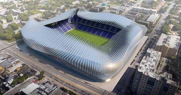 David Beckham's soccer stadium gets river commission voice