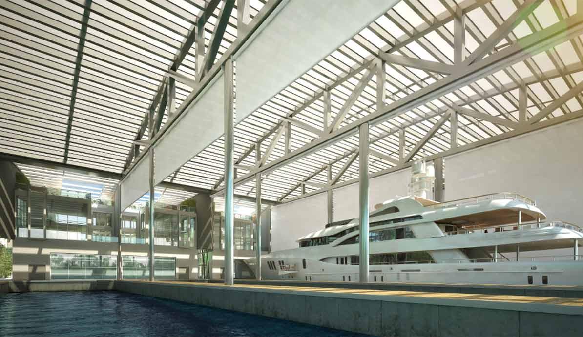 Marina for mega-yachts on Miami River seeks tenants