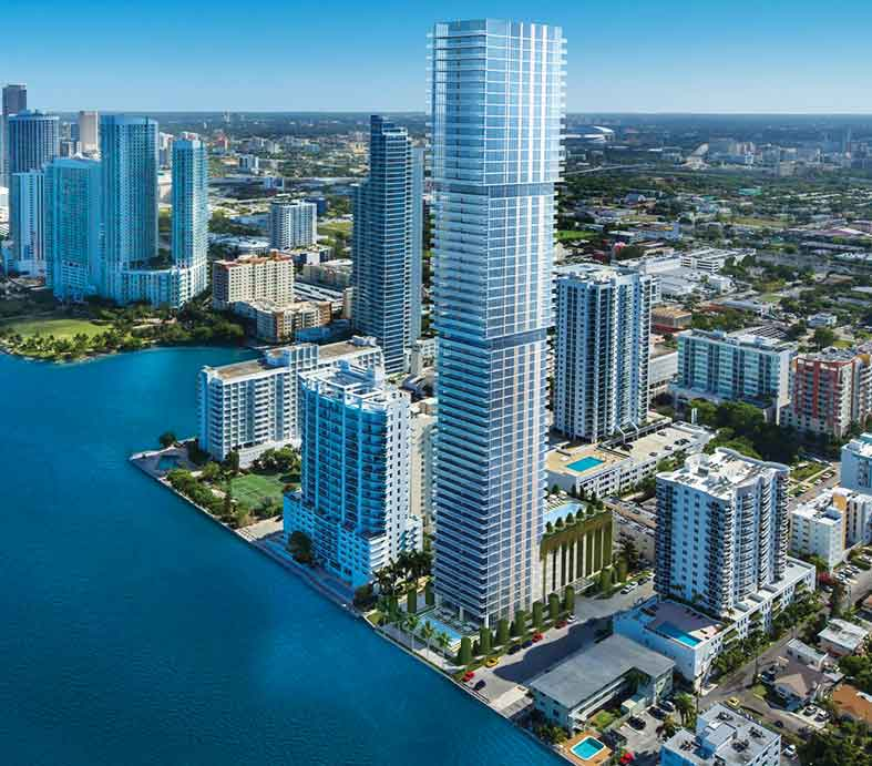 57-story luxury condo tower in Edgewater advances