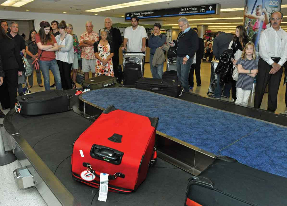 Miami International Airport baggage handling improves