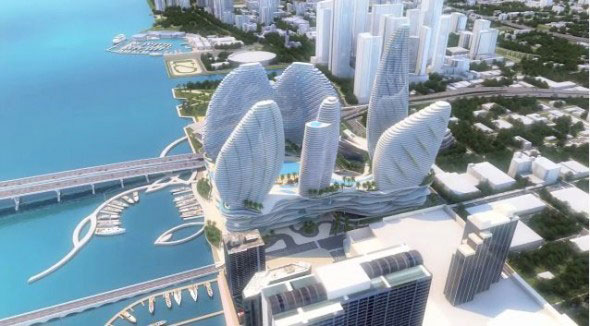 Gambling power Genting to build Miami baywalk