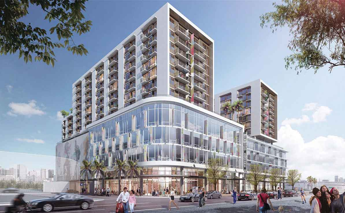 Major projects in Wynwood, Brickell, Flagler OK'd