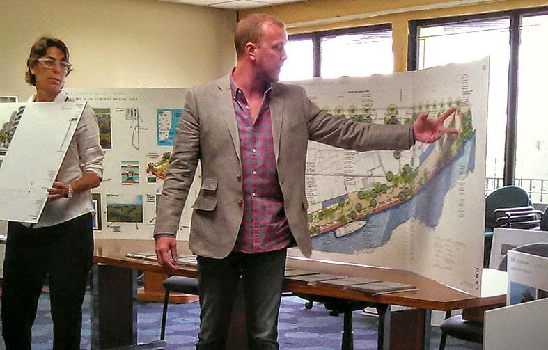 Riverwalk for new 69-story tower nears