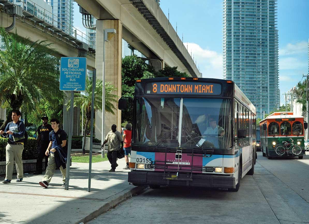 Miami-Dade bus ridership often delayed