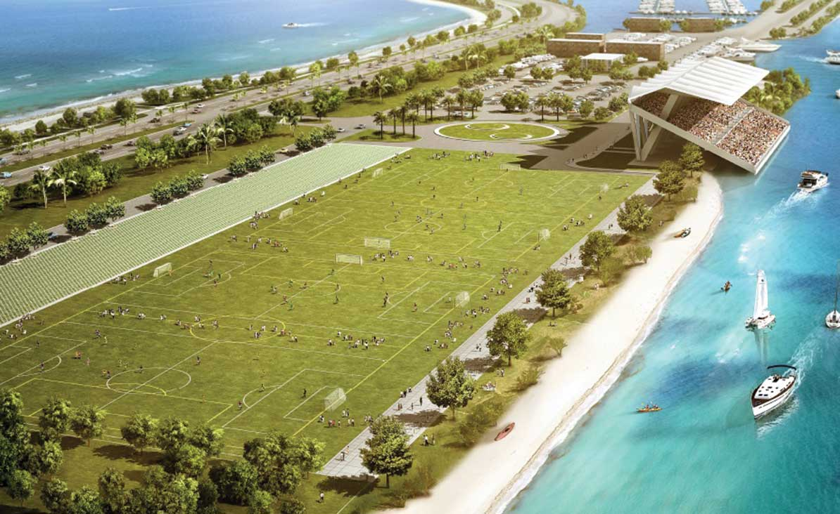 No soccer at the Miami Marine Stadium Flex Park