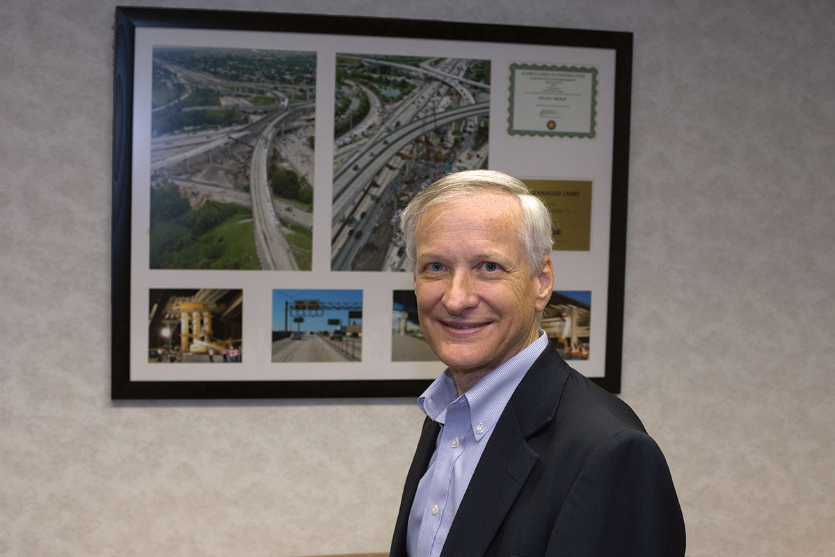 James Wolfe: Plays key role in new transit corridors, signature bridge