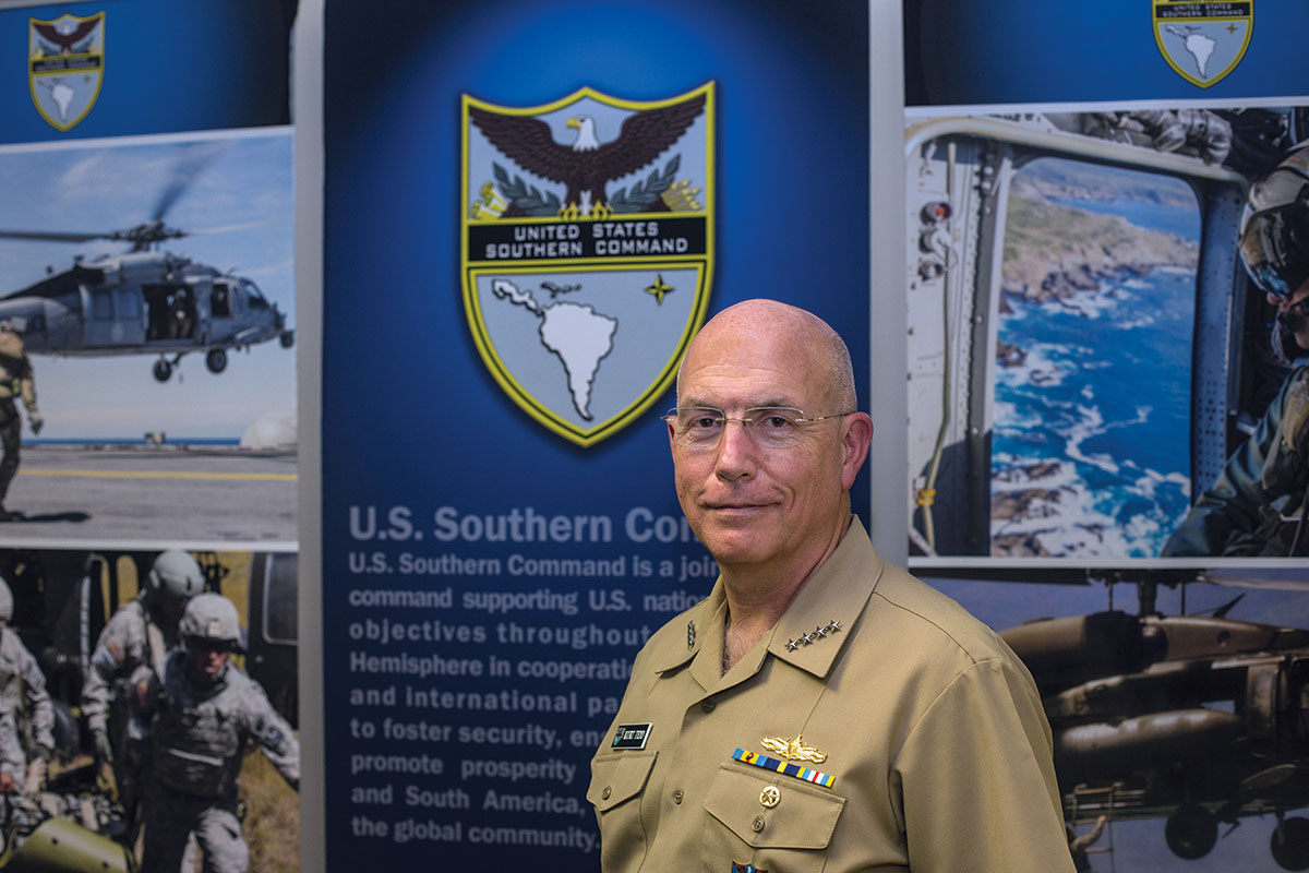 Admiral Kurt Tidd: US Southern Command leader stresses close partnerships