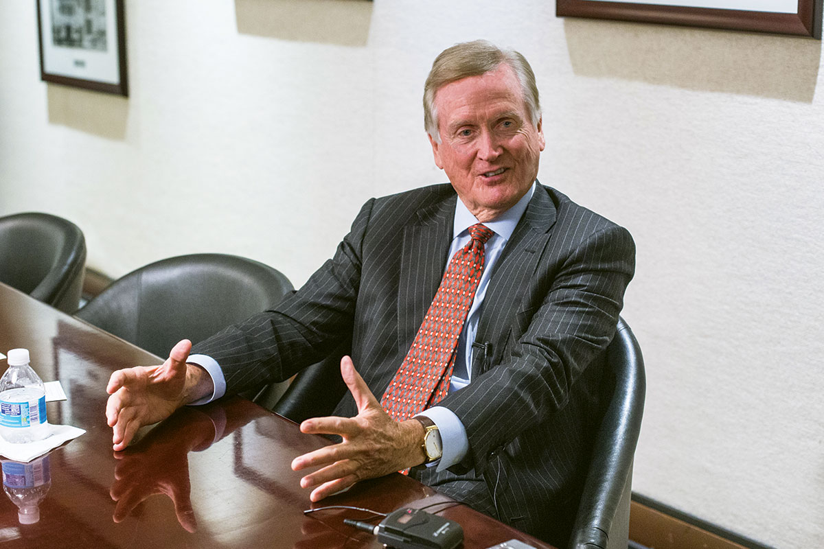 James Davidson: President and Chairman of Coral Gables Trust Co.