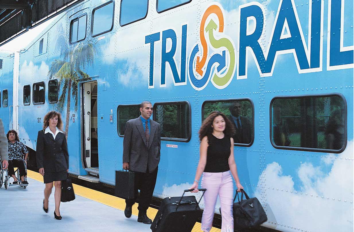Plans for Tri-Rail's downtown link on track