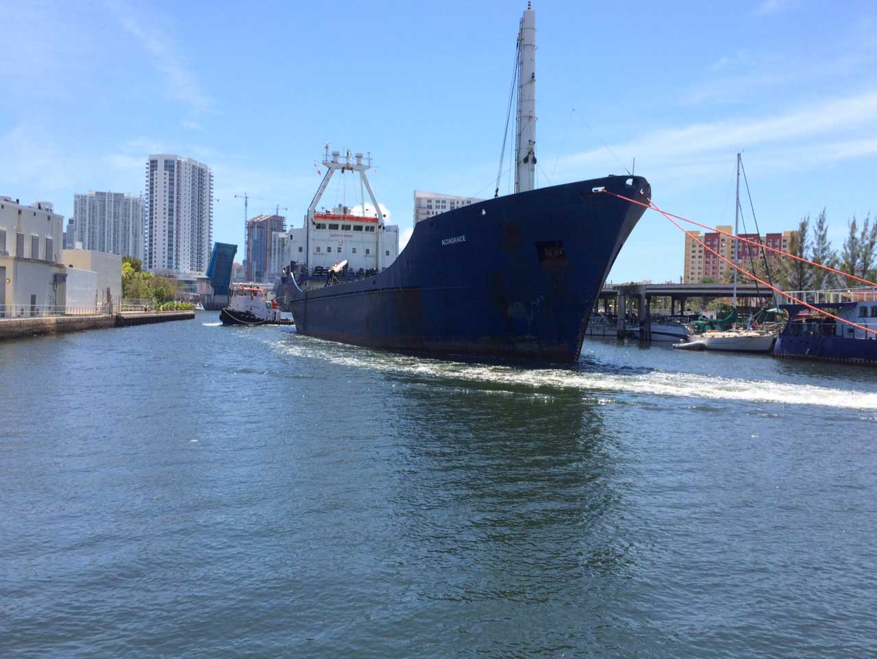 State seeks ways to build Miami River freight capacity