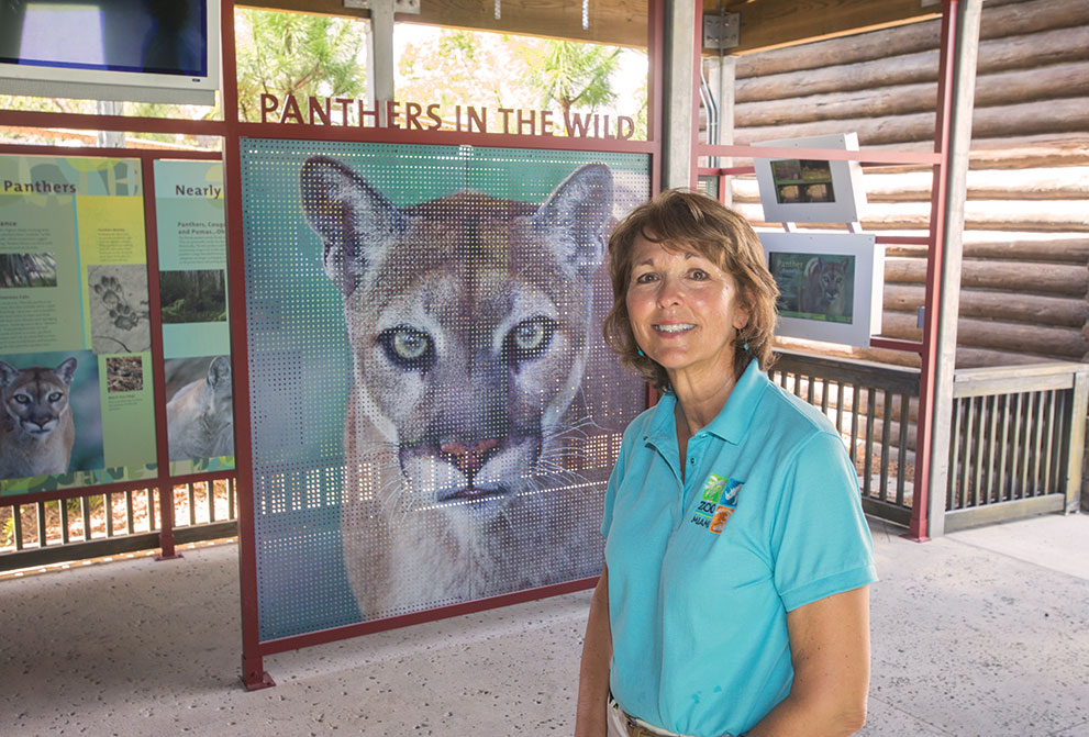 Carol Kruse: Director prepares for Zoo Miami's Everglades exhibit