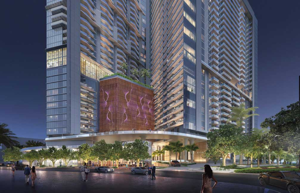 Brickell Bay Drive plan would add 700 apartments, hotel