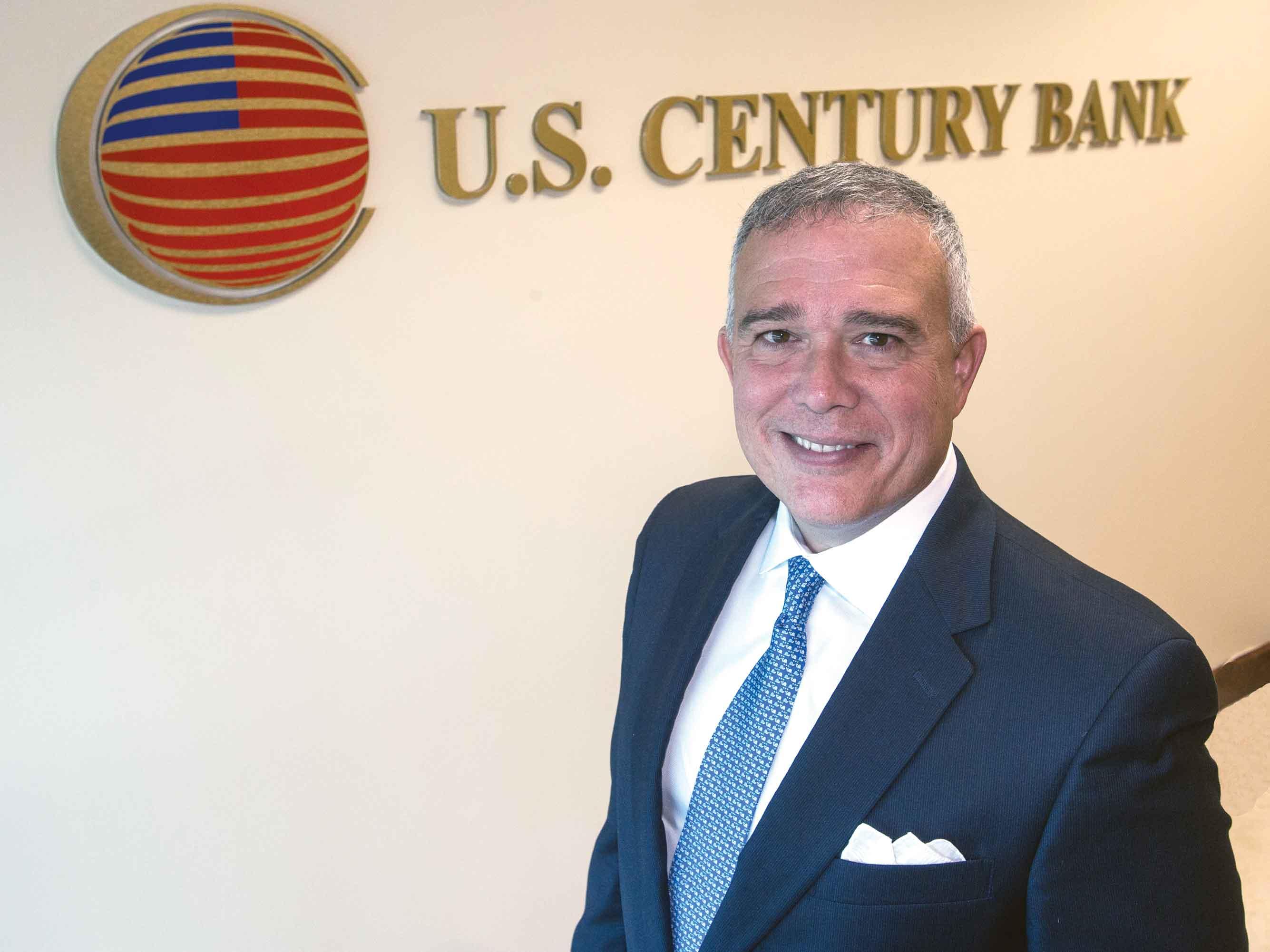 Luis de la Aguilera: President targets new markets for U.S. Century Bank