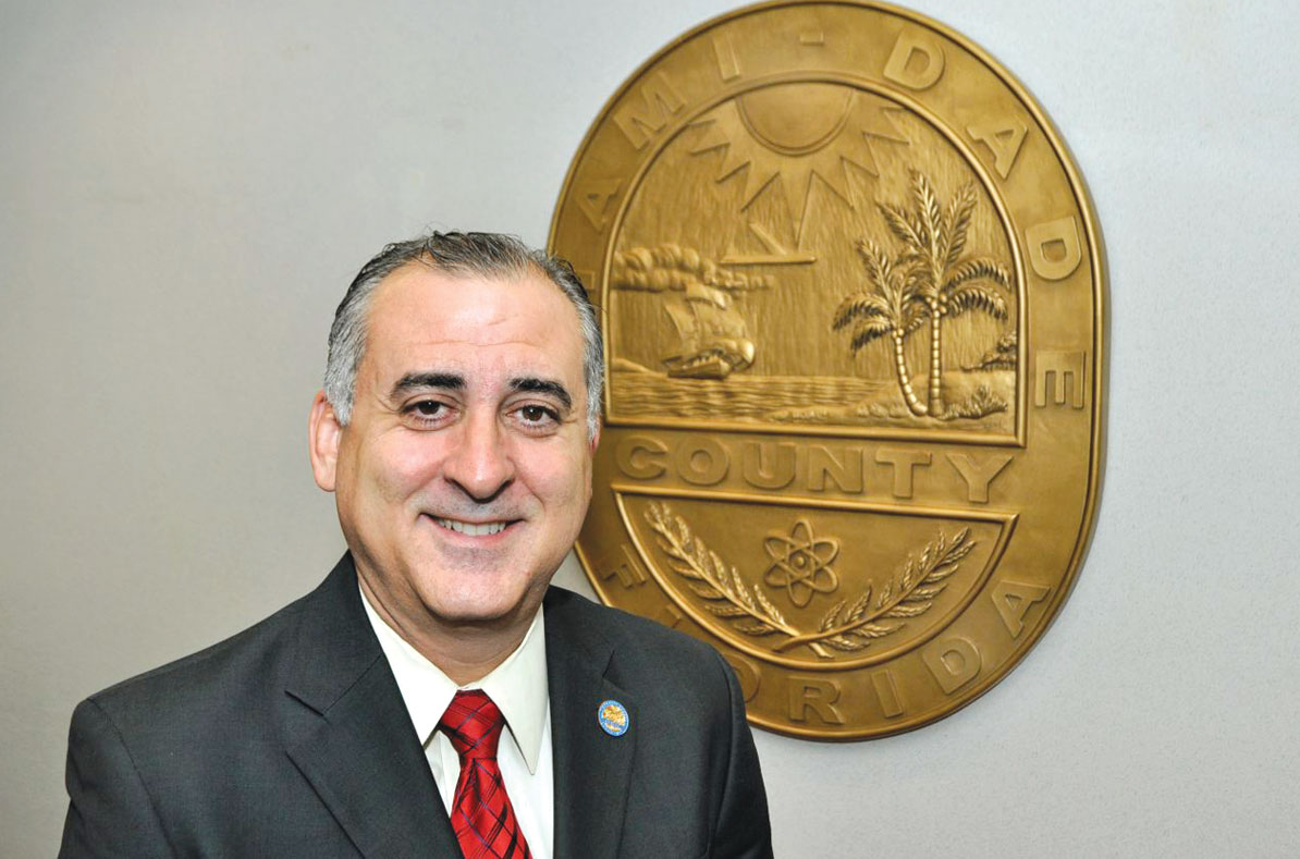 Chair Esteban Bovo Jr. says no circus at county commission