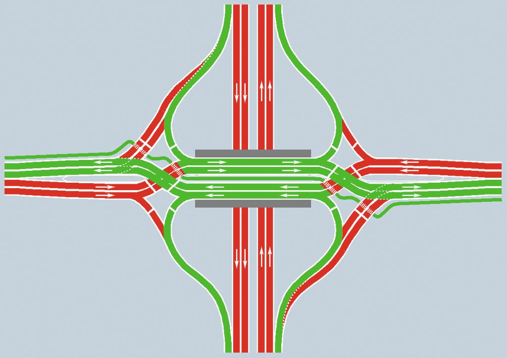 Local highways to get first diverging diamond interchanges
