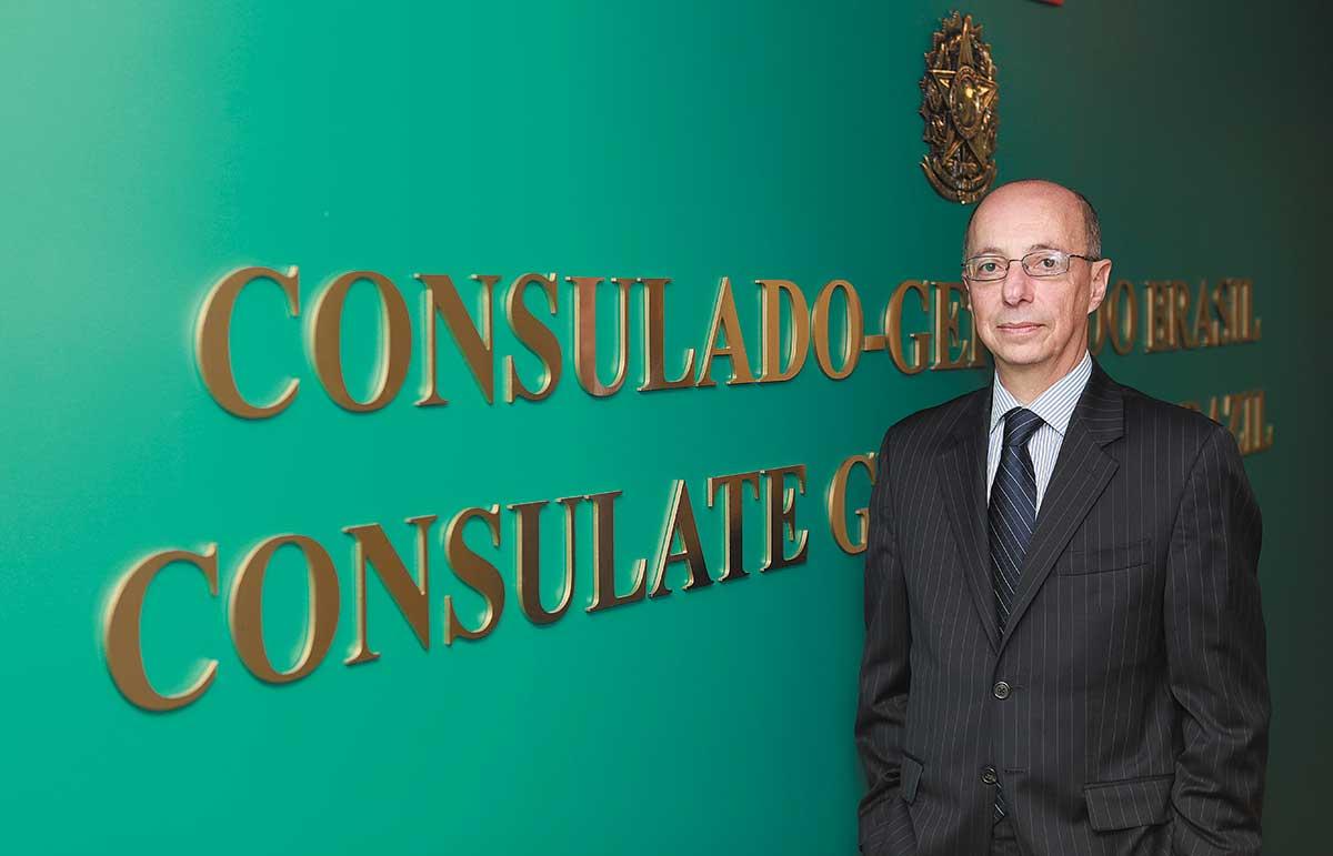 Adalnio Senna Ganem: Consul general promotes awareness of ties with Brazil