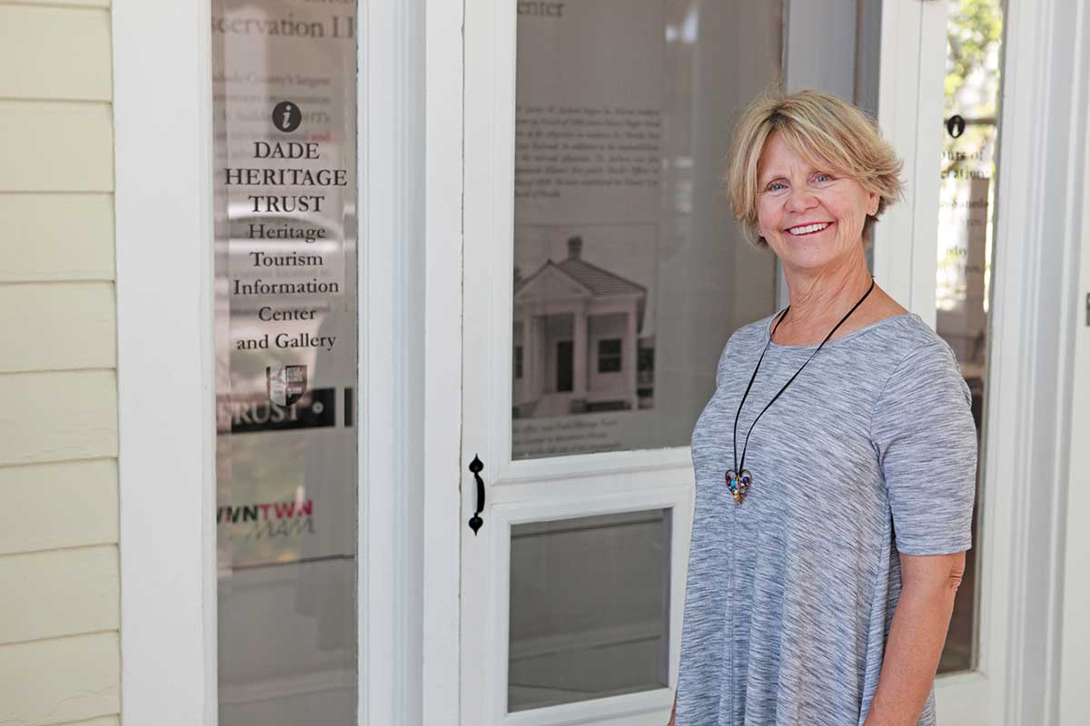 Christine Rupp: Guiding Dade Heritage Trust to preserve historic sites