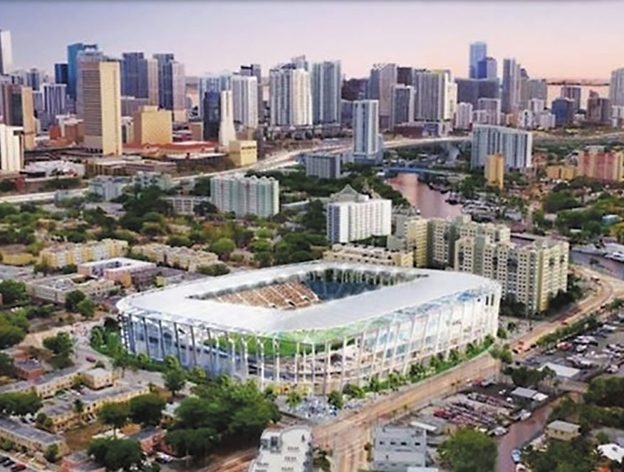 David Beckham taking big victory to Miami city hall contest