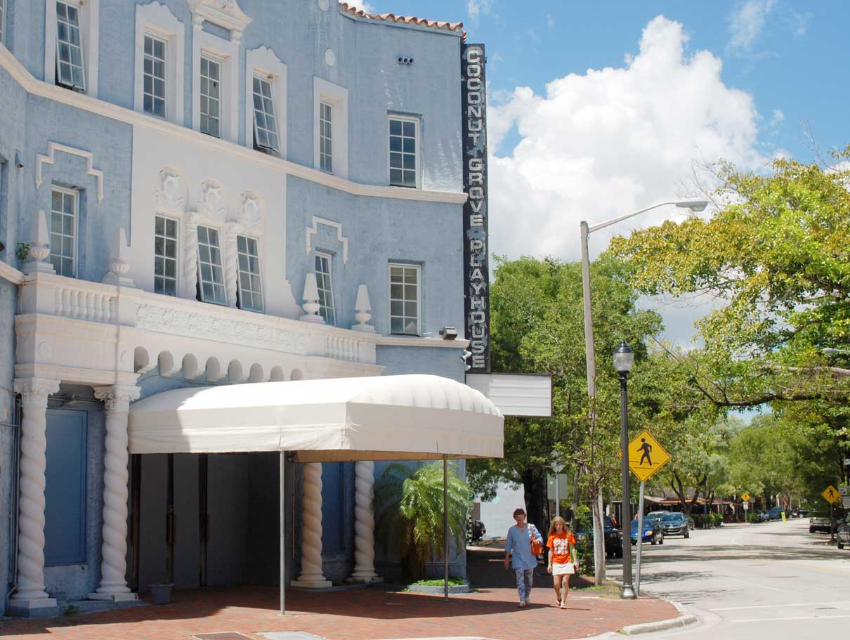 Next act at Coconut Grove Playhouse may be city garage