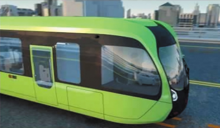 Trackless train may be a Miami-Dade alternative