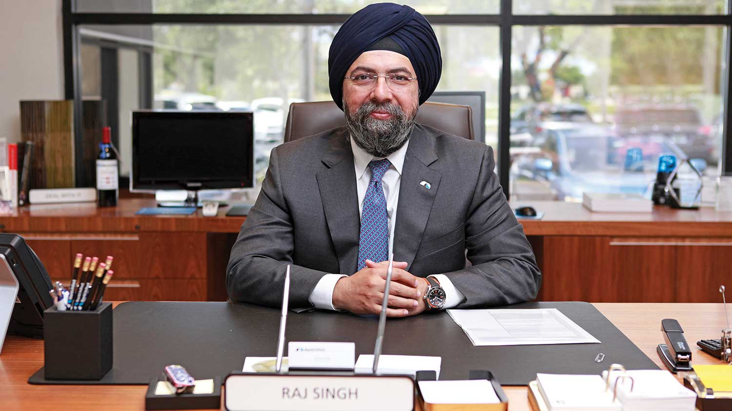 Raj Singh Grows BankUnited organically as a two-market bank