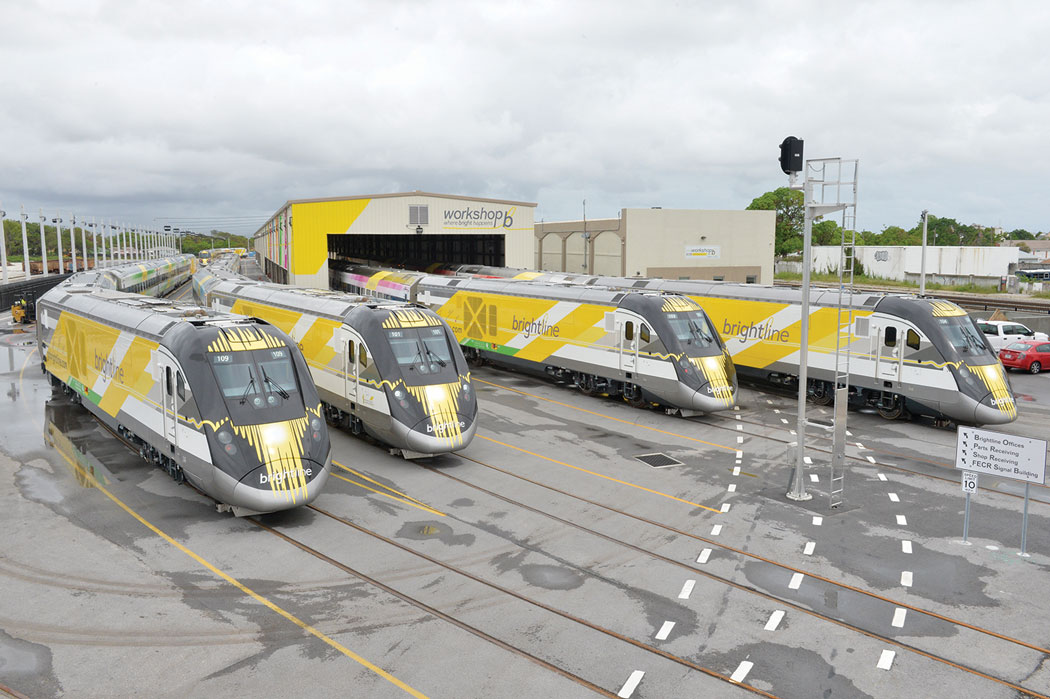 Brightline rail still standing in station awaiting feds' OK
