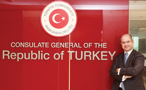 Burç Ceylan: Consul general spearheads business growth for Turkey