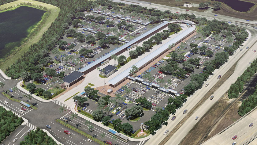 Dolphin Station Park & Ride to be done by March