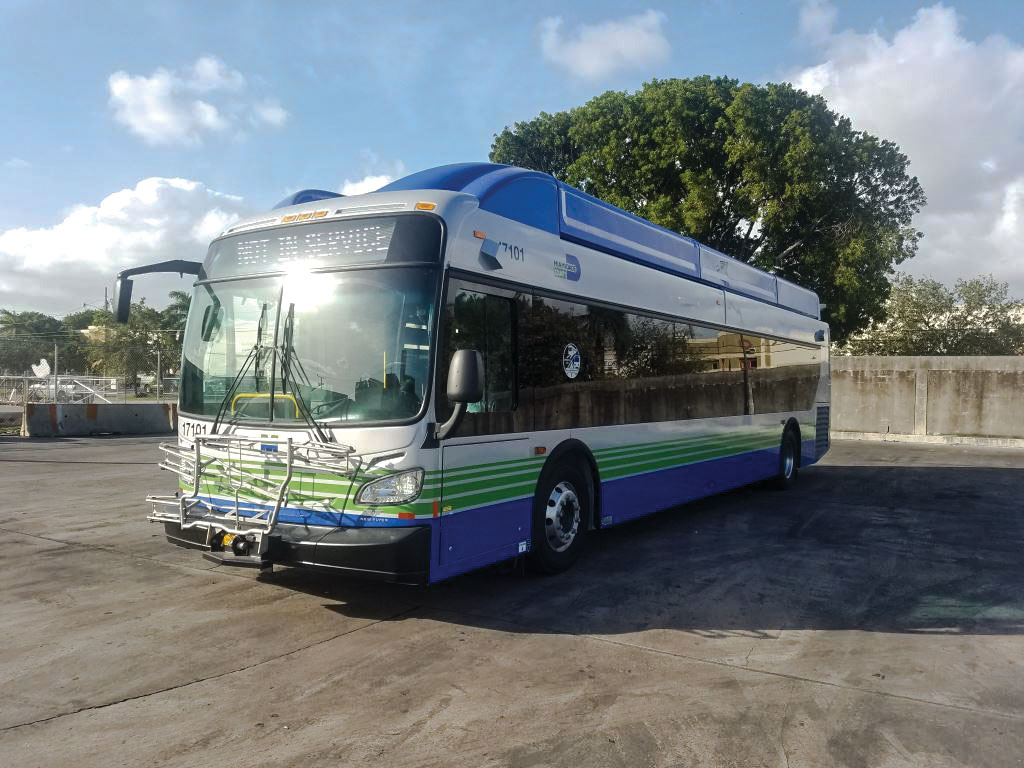 CNG buses start to fuel Miami-Dade transit gains