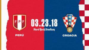 Peru vs. Croatia
