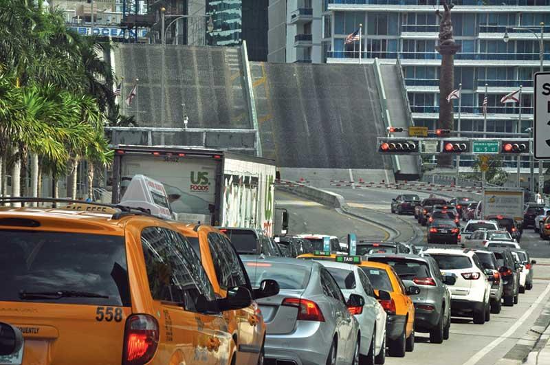 Compromise near on lockdowns of Brickell Avenue Bridge