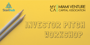 Investor Pitch Workshop