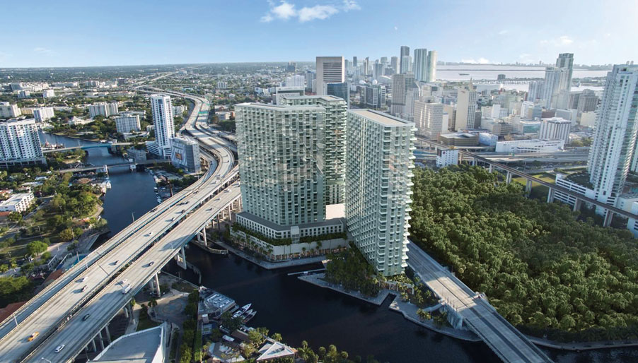 City swap, three-tower development on Miami River cast adrift