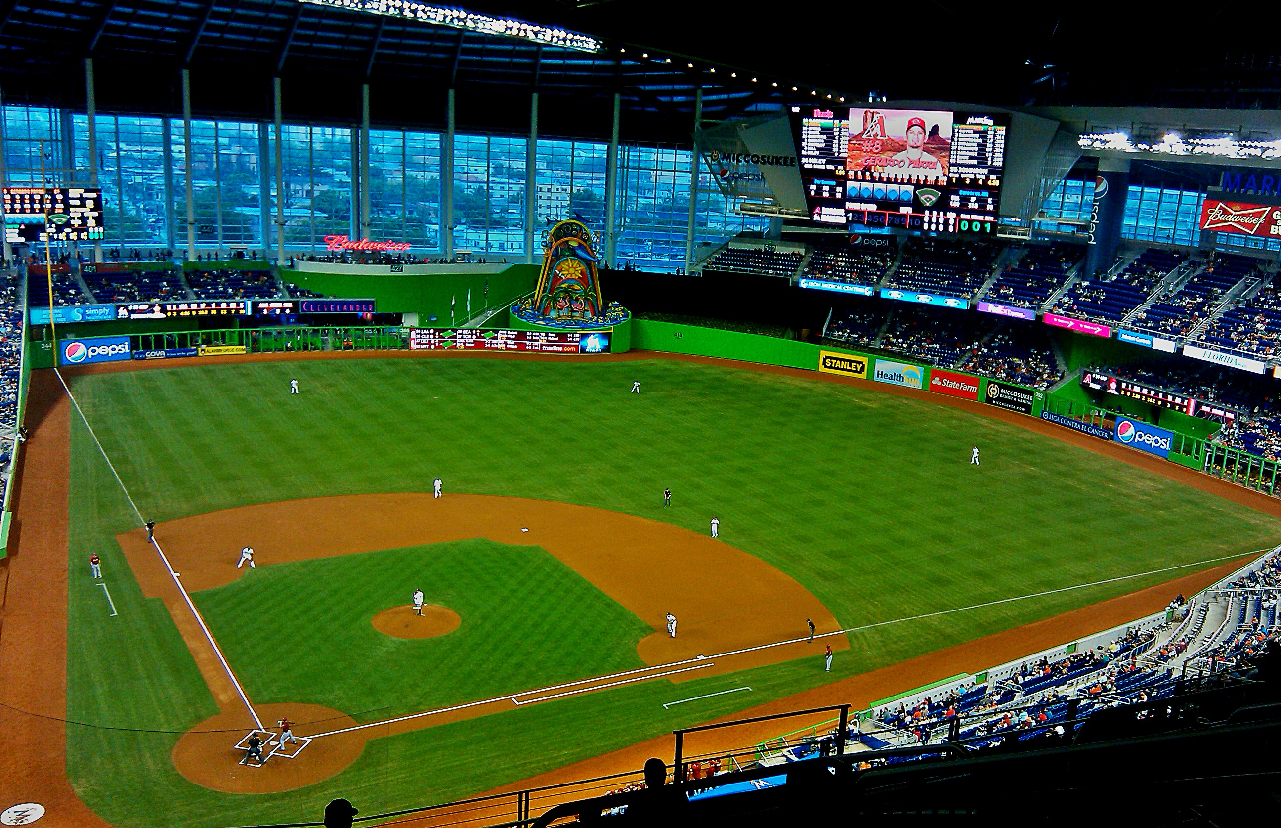Night with the Marlins