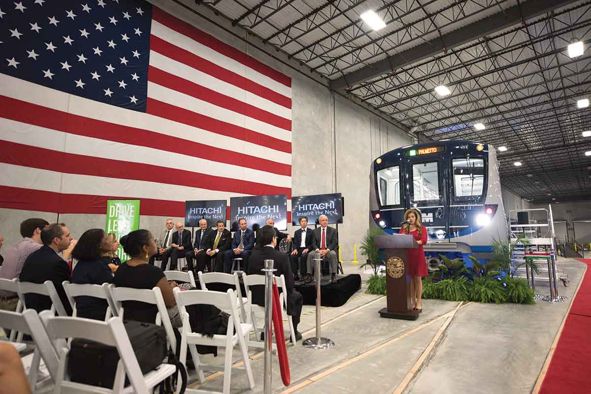 28 of 136 rail cars, 42 new buses roll slowly into county's overaged fleets