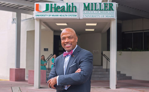 Henri Ford: Dean seeks big gains at UM's Miller School of Medicine