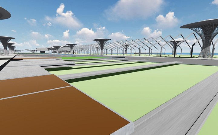 Marine Stadium flex park ideas greeted coolly