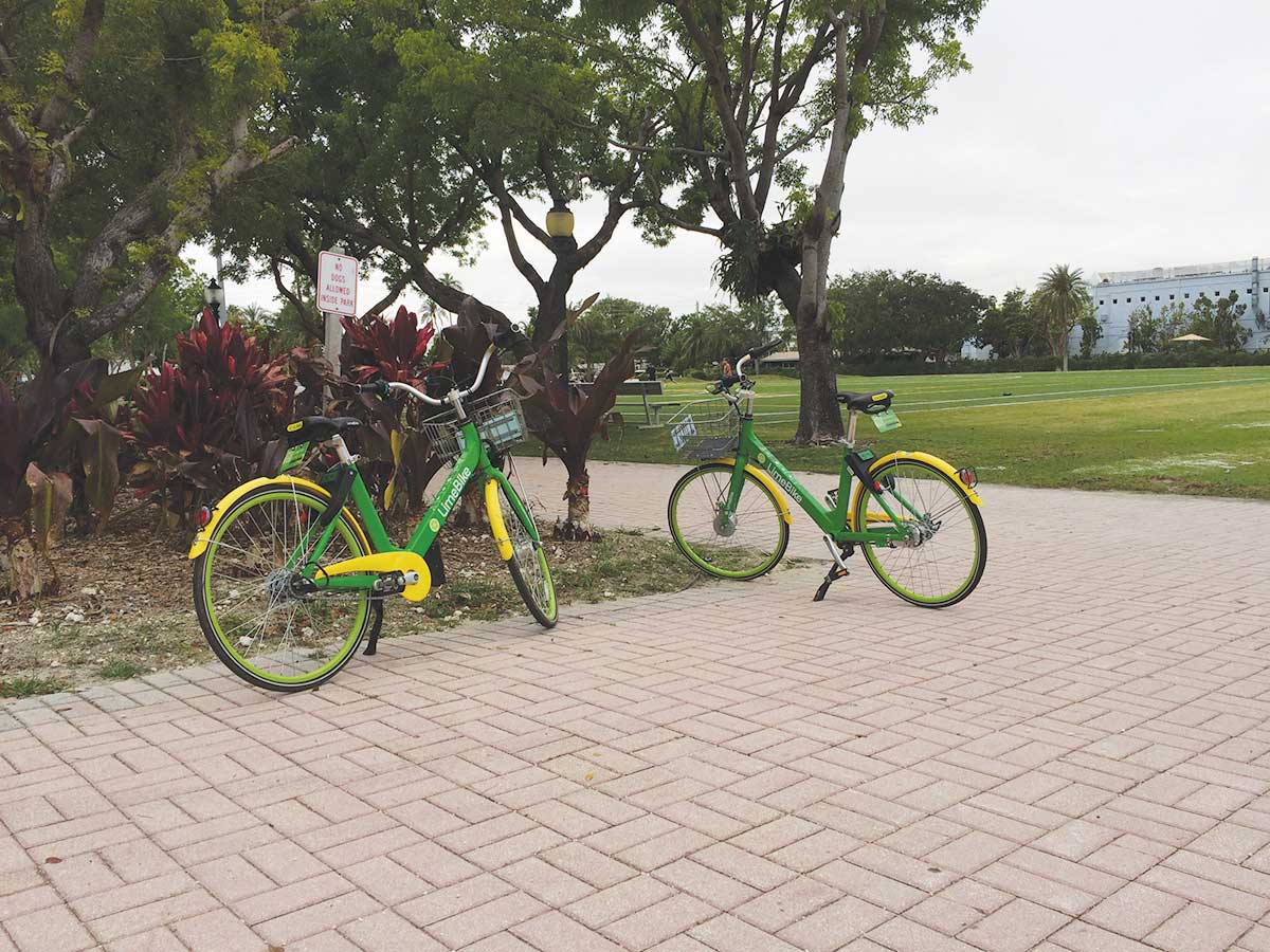 County scours nation for best bicycle and scooter sharing rules
