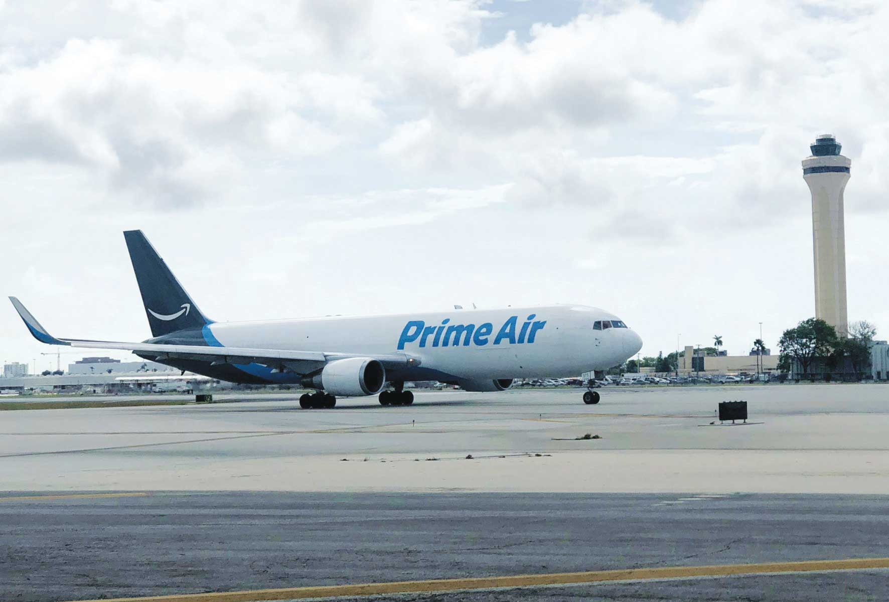 Amazon Air joins Miami International Airport