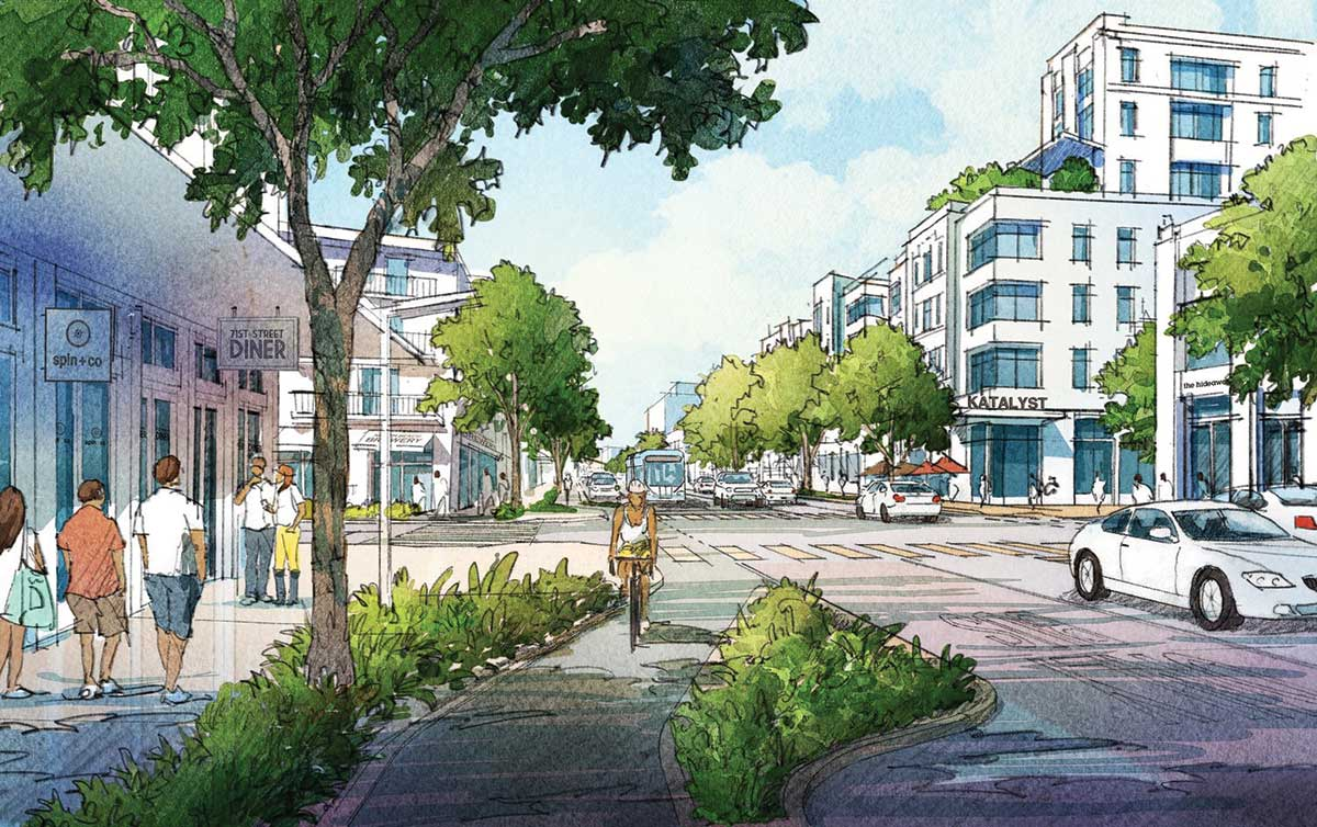 North Beach Town Center plans stretch skyward