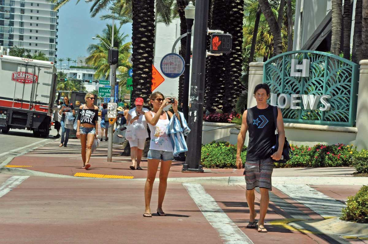 Miami International Airport arrivals key to Miami Beach health