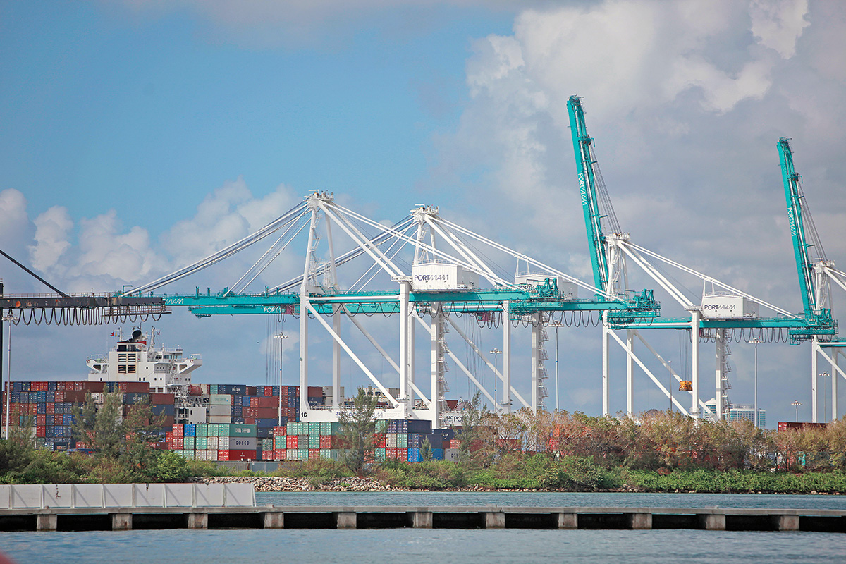 PortMiami scrunching cargo area to add two cruise terminals
