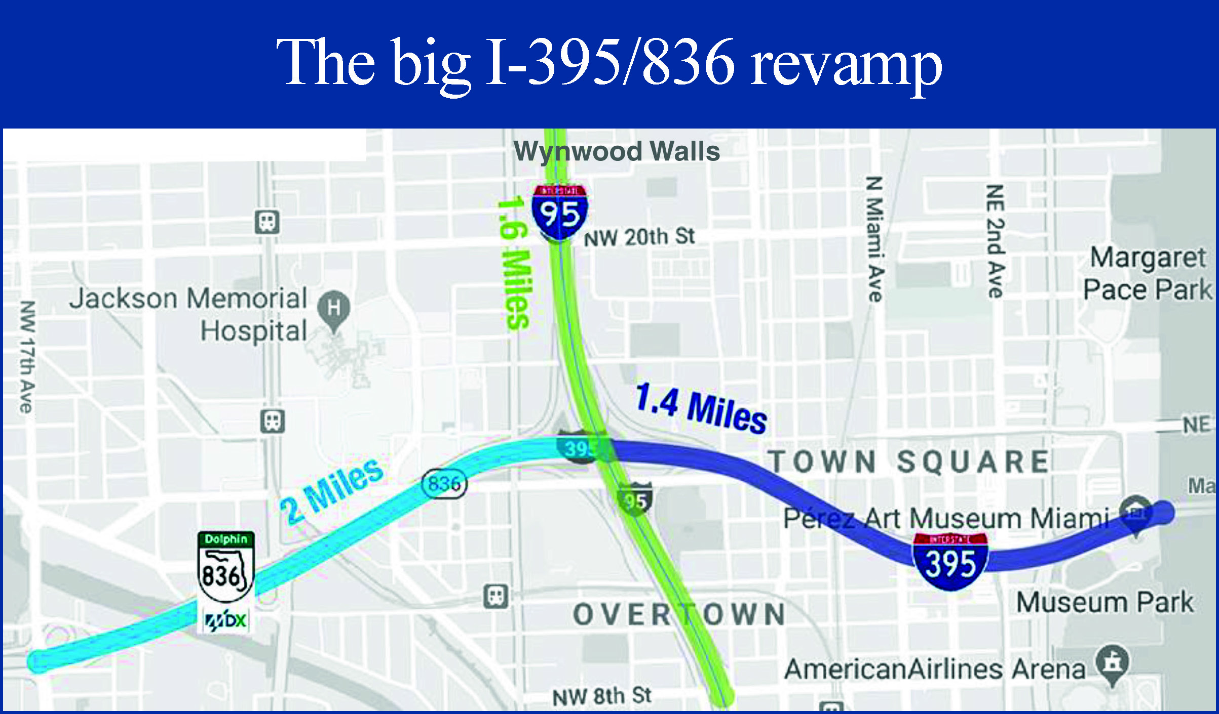The great unknown: how long will I-395/836 project take?