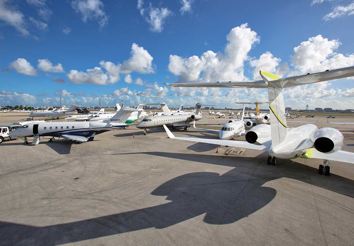 Miami-Dade tallies 17% private jet flight increase