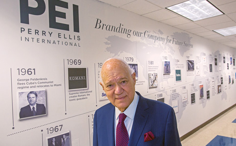 George Feldenkreis: Leads Perry Ellis to navigate changing business climate